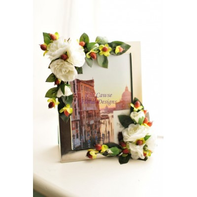 Bespoke Silk Flower Frames
