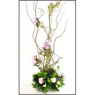 Bespoke Contorted Willow Posy Design