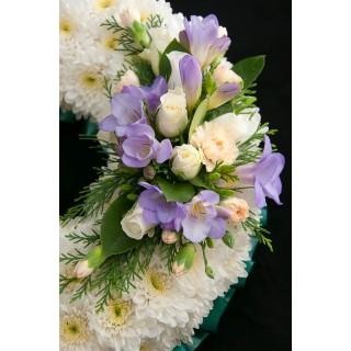 White Based Wreath