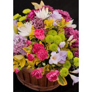 Mixed Flower Trug