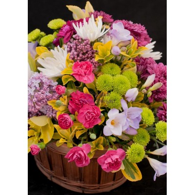 Mixed Flower Trug