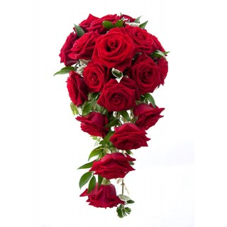 Grand Prix & Cherry Ruscus Shower Bouquet