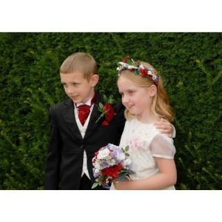 Silk Flower Girl & Page Boy Flowers