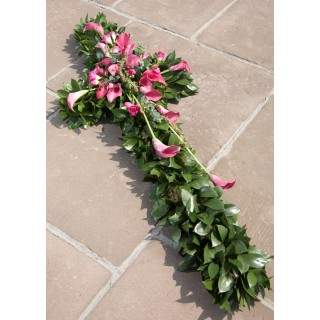 Calla Lilly & foliage ECRS03