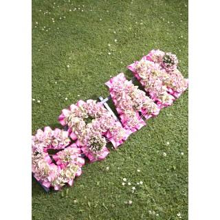 Hydrangea Based Letters