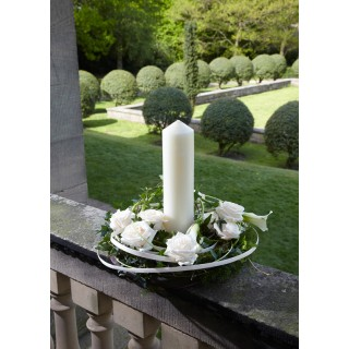 "9""Candle Arrangement"