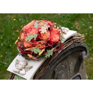 Natural Rose Posy Pad