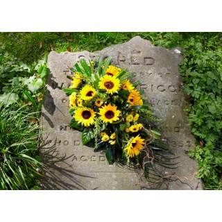 Sunflower Single Ended Spray