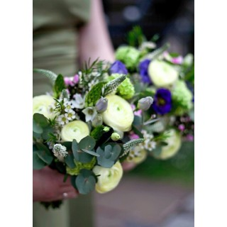 Mixed Flowers & Colours, arranged in a natural style