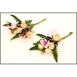 Phlox & Spray Rose Corsage