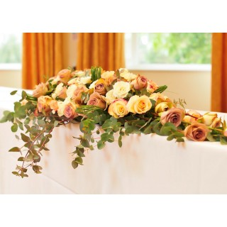 Rose Top Table Floral Design