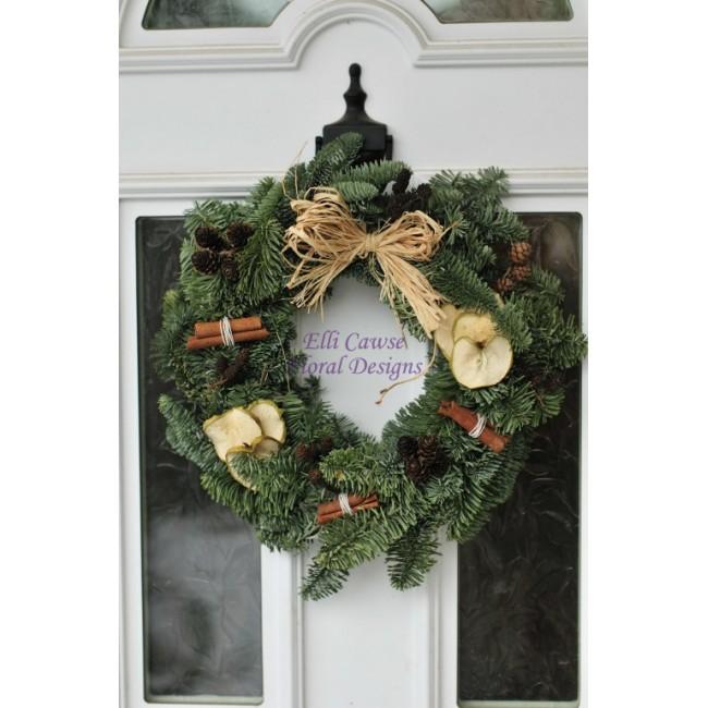 Christmas Wreath Making Workshop 2018 35 00 Elli Cawse Floral